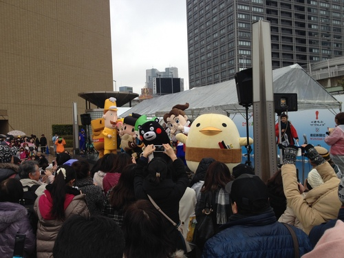 くまモンファン感謝デー! 2014年2月19日