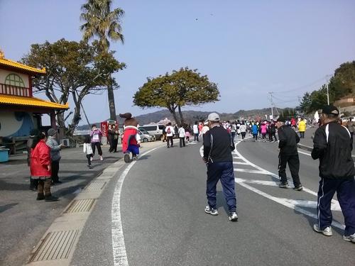 天草パールラインマラソン大会 2014年3月 9日