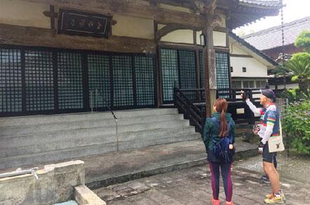 金性寺外側