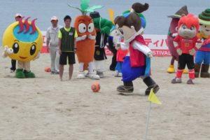 御立岬ビーチサッカーフェスティバル2014 2014年6月27日